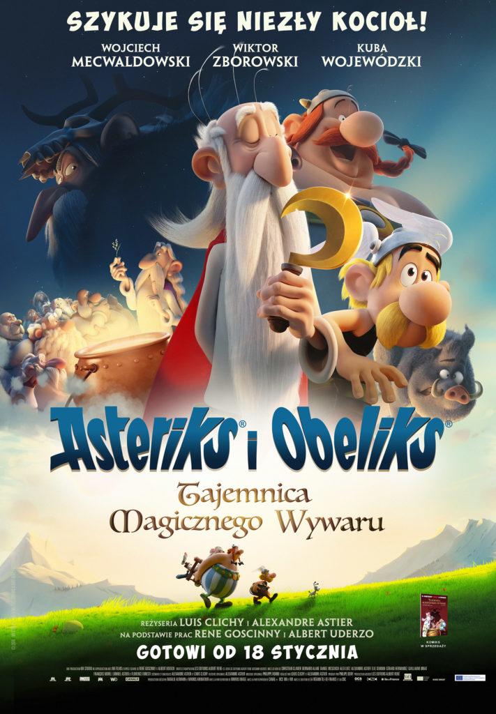 Znalezione obrazy dla zapytania asterix i obelix tajemnica magicznego wywaru